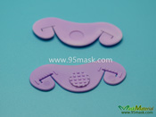 Elastic Straps Buckle for Dust Mask, Elastic band Plastic Buckle