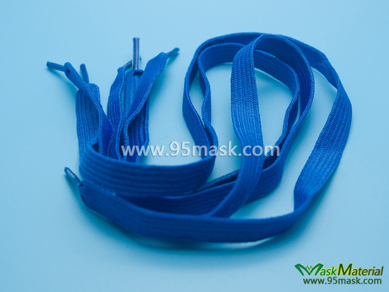 Oxygen Mask Elastic Band With Plastic Cover Both Ends