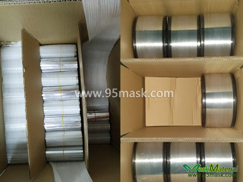 Packing Of Flat Aluminum Nose Clips